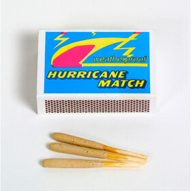 Basic Nature Waterproof Storm Matches 3 Boxes